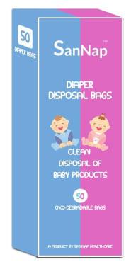 Sannap Baby Diaper Disposal Bags
