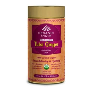 Organic India Tulsi Ginger Tea Tin
