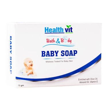 HealthVit Bath & Body Baby Soap