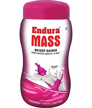 Endura Mass Weight Gainer Strawberry