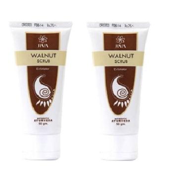 Jiva Walnut Scrub Pack of 2