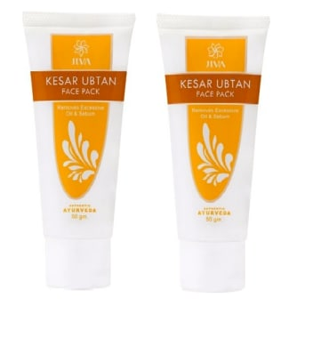 Jiva Kesar Ubtan Face Pack Pack of 2
