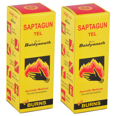 Baidyanath Saptgun Tel Pack of 2