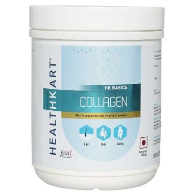 HealthKart Collagen with Glucosamine and Vitamin C Powder