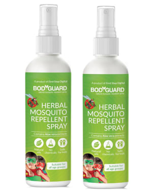 Bodyguard Herbal Mosquito Repellent Spray Pack of 2