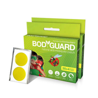Bodyguard Natural Anti-Mosquito Patch Pack of 2