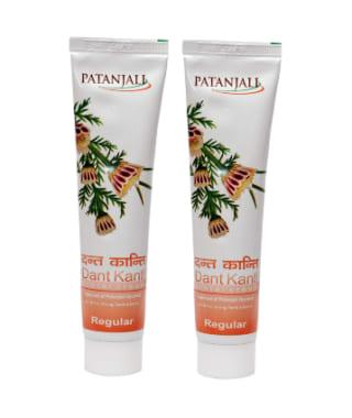 Patanjali Ayurveda Dant Kanti Regular Dental Cream Pack of 2