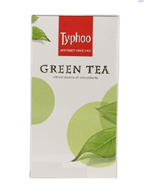 Typhoo Green Tea Bag Foil