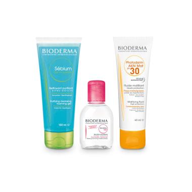 BIODERMA Sun Protection Combo for Acne Prone Skin