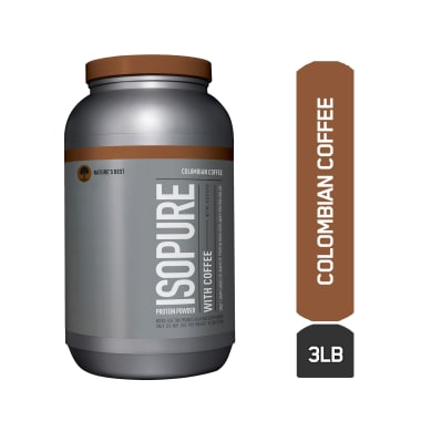 IsoPure Protein Powder with Coffee Colombian Coffee