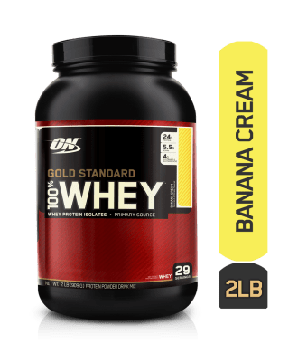 Optimum Nutrition (ON) Gold Standard 100% Casein Banana Cream