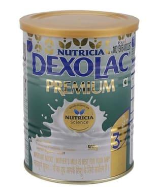 Dexolac Premium 3 Follow-Up formula Tin