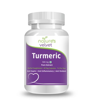 Nature's Velvet Turmeric Pure Extract 500mg Capsule
