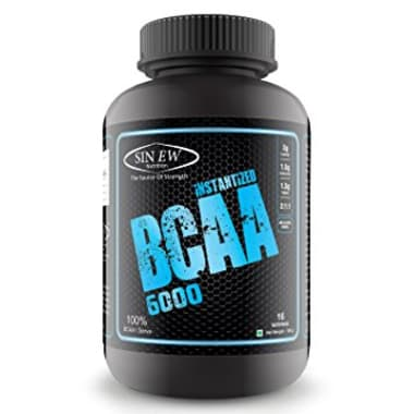 Sinew Nutrition Instantized BCAA 6000 Powder Unflavoured