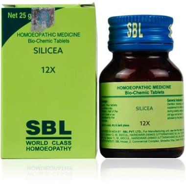 SBL Silicea Biochemic Tablet 12X