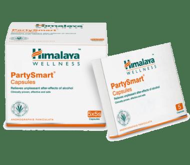 Himalaya Wellness PartySmart Capsule Pack of 5