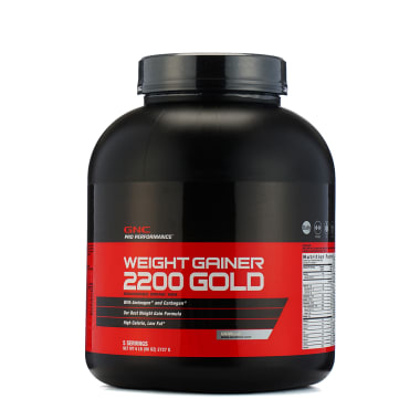 GNC Weight Gainer 2200 Gold Powder Vanilla
