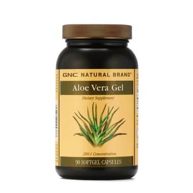 GNC Aloe Vera Gel Soft Gelatin Capsule