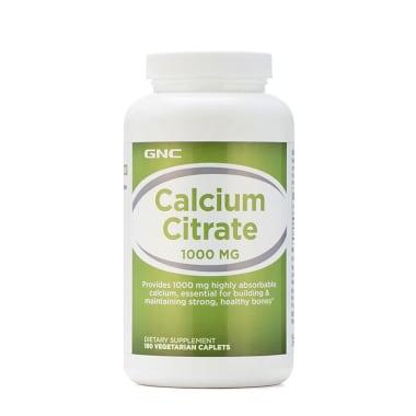 GNC Calcium Citrate 1000mg Caplet