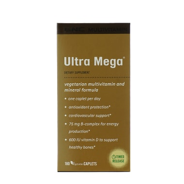 GNC Multivitamin Ultra Mega Caplet