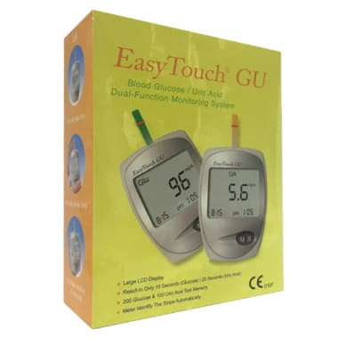 EasyTouch ET-201 GU Blood Glucose/Uric Acid Dual-Function Monitoring System
