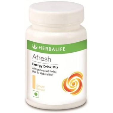 Herbalife Afresh Energy Drink Mix Ginger