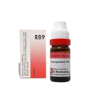 Dr. Reckeweg Hair Care Combo (R89 + Lycopodium Dilution 30CH)