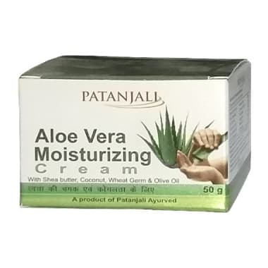 Patanjali Aloevera Moisturizing Cream Pack of 2