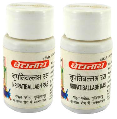 Baidyanath Nripatiballabh Ras Tablet Pack of 2