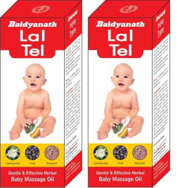 Baidyanath Lal Tel Pack of 2