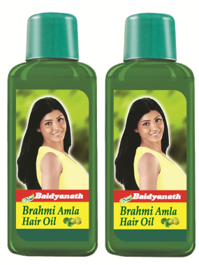 Baidyanath Brahmi Amla Hair Oil Pack of 2
