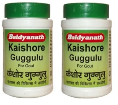 Baidyanath Kaishore Guggulu Tablet Pack of 2