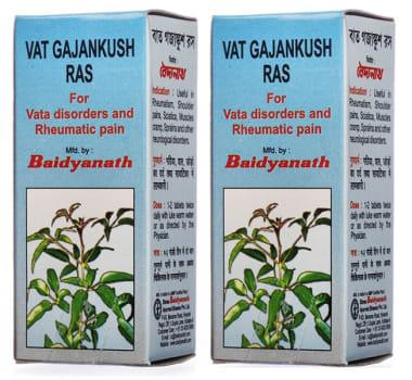 Baidyanath Vat Gajankush Ras Tablet Pack of 2