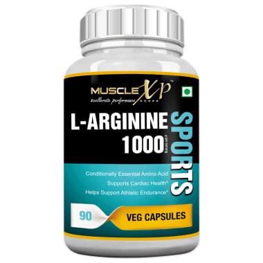 MuscleXP L-Arginine 1000mg Capsule