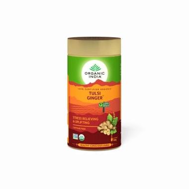 Organic India Tulsi Ginger Tea Tin