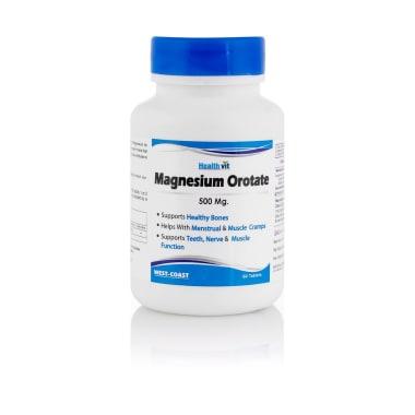 HealthVit Magnesium Orotate 500mg Tablet