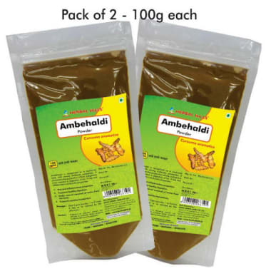 Herbal Hills Ambehaldi Powder Pack of 2