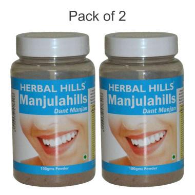 Herbal Hills Manjulahills Powder Pack of 2