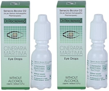 Dr. Reckeweg Cineraria Maritima Eye Drop Pack of 2