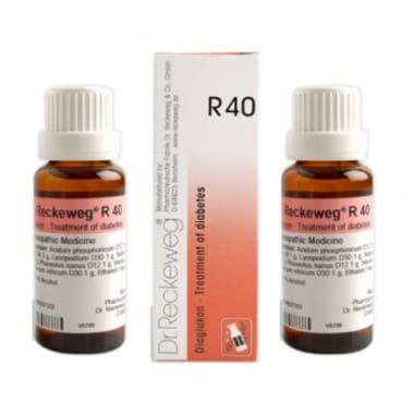 Dr. Reckeweg R40 Diabetes Drop Pack of 2