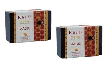 Khadi Mauri Herbal Honey Soap Pack of 2