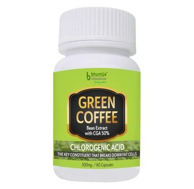 Bhumija Lifesciences Green Coffee Bean Extract Capsule