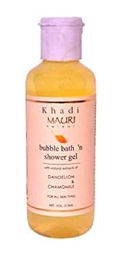 Khadi Mauri Herbal Bubble Bath & Shower Gel