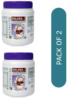Amway Nutrilite Kids Drink Chocolate Pack of 2