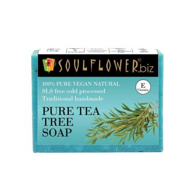 Soulflower Pure Tea Tree Soap