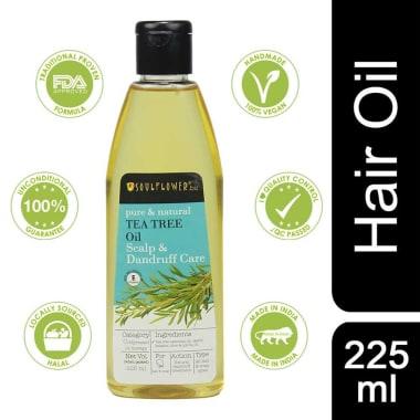 Soulflower Tea Tree Scalp and Anti Dandruff Oil