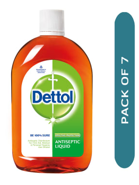 Dettol Antiseptic Liquid Pack of 7