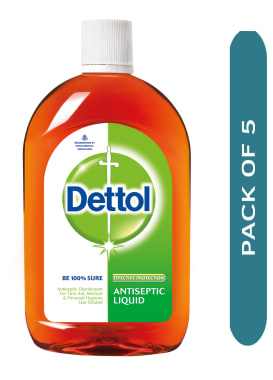 Dettol Antiseptic Liquid Pack of 5