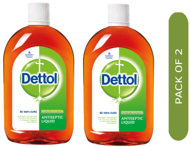 Dettol Antiseptic Liquid Pack of 2