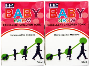 Hahnemann Baby Grow Drop Pack of 2